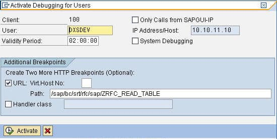 Debugging Inbound Web Service calls in SAP - DataXstream OMS+