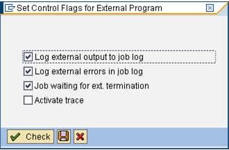 8 control flag settings
