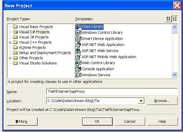 Build an SAP RFC Server using the SAP  Net Connector