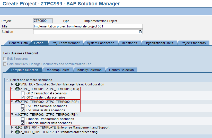 Sap solution manager solman template projects dataxstream the three template cheaphphosting Choice Image