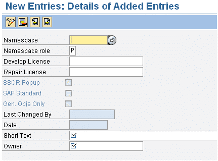 se03 namespace registration screen