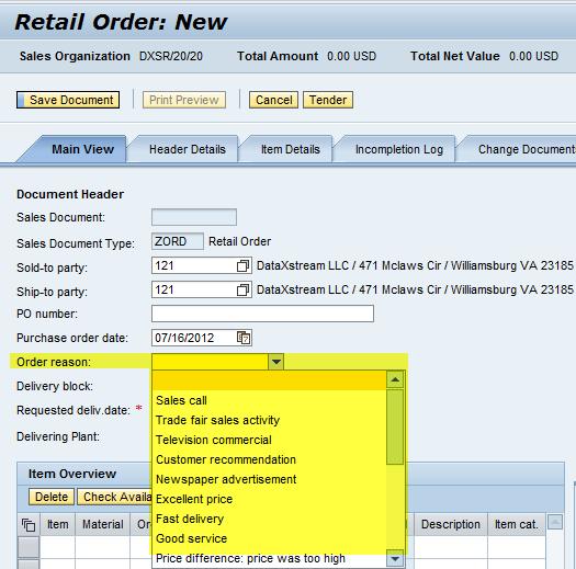 Enhancing SAP Lean Order Management for SAP Retail Part 1