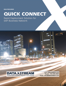 Quick Connect for SAP Business Network