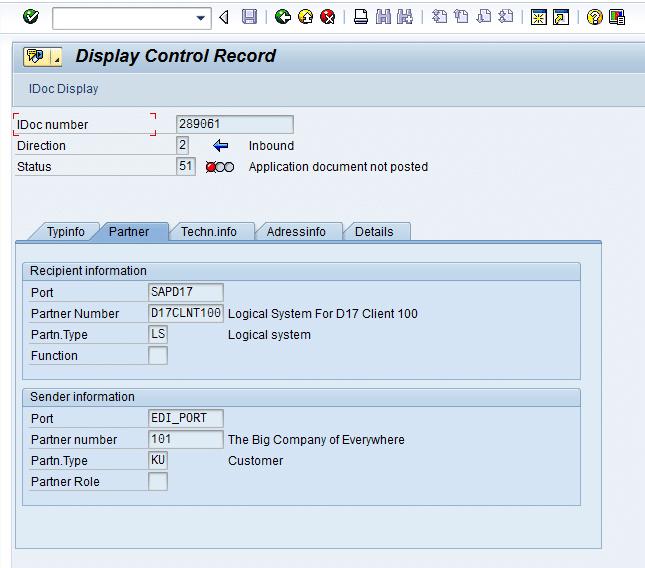 SAP EDI EDPAR Table Walkthrough - How to Cross Reference External