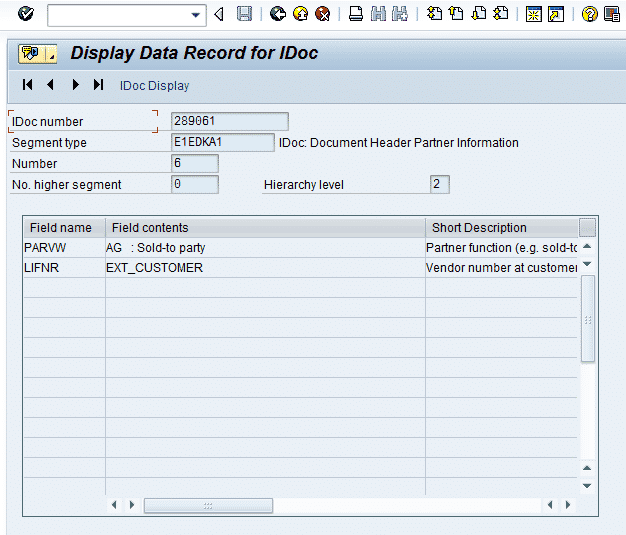 SAP EDI EDPAR Table Walkthrough - How to Cross Reference