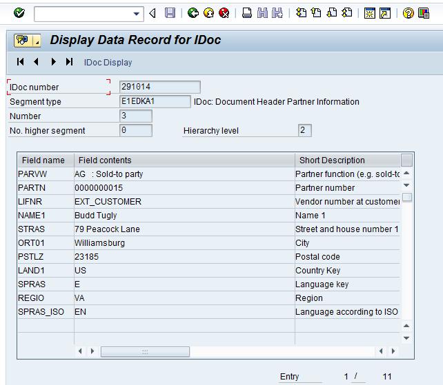 SAP EDI EDPAR Table Walkthrough - How to Cross Reference SAP