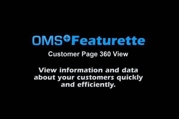 Featurette Fourteen: Customer Page