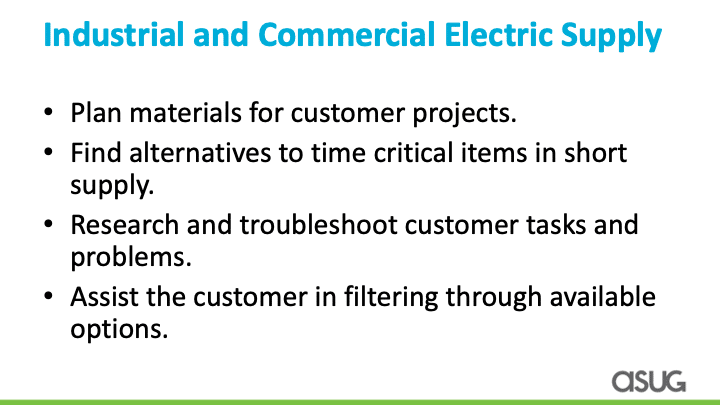 Industrial and Commercial Electric Supply