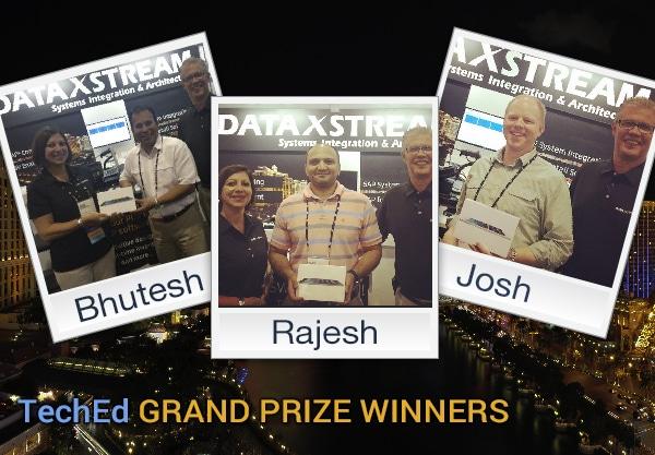 Congratulations Prize Winners!